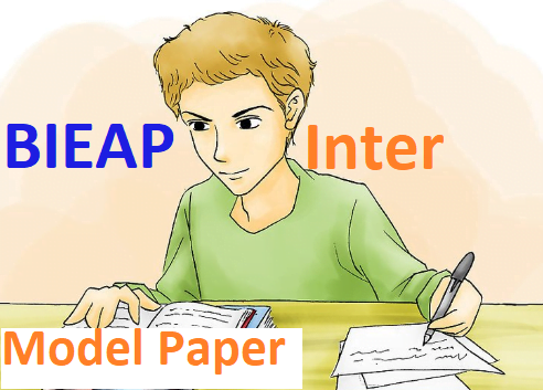Manabadi AP 12th 2nd Inter Model Paper 2020