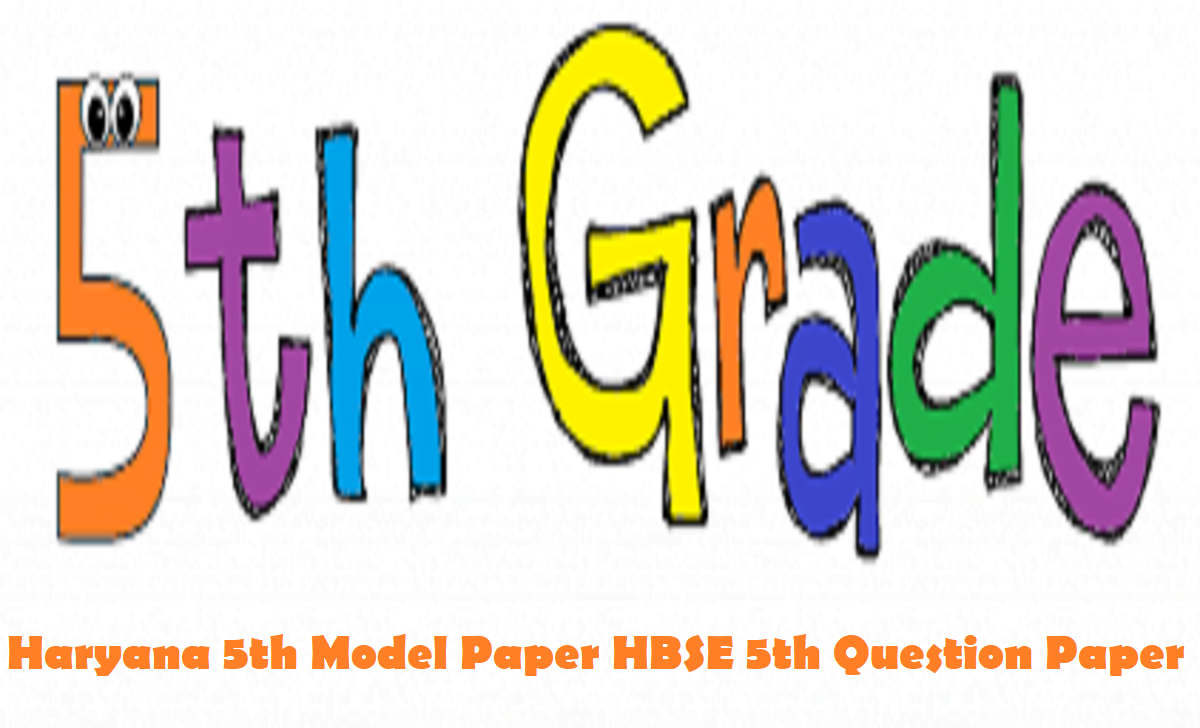 Haryana 5th Model Paper 2021 HBSE 5th Question Paper 2021