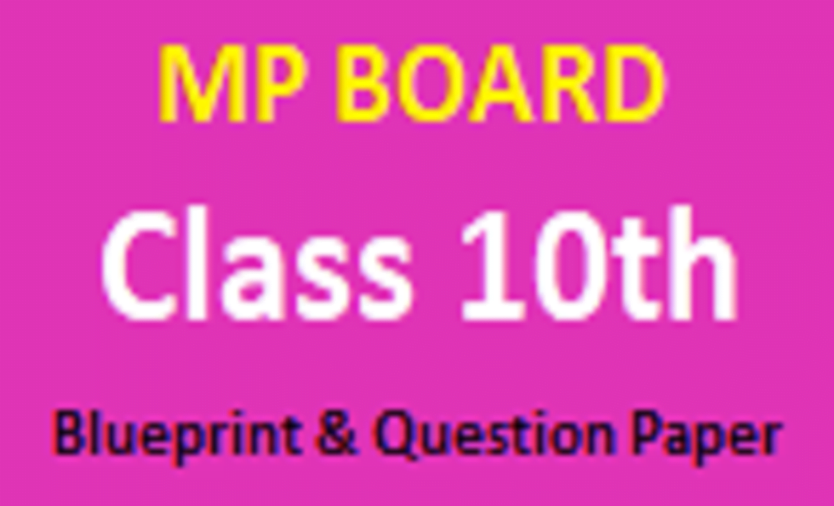 MP 12th Blueprint 2021 MPBSE +2 Question Paper 2021 MP 12th Exam Pattern 2021